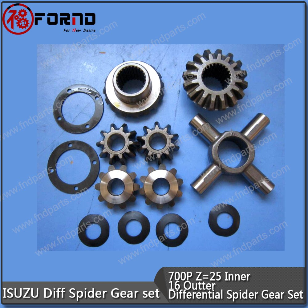 ISUZU 700P DIFFERENTIAL SPIDER GEAR SET With Washer