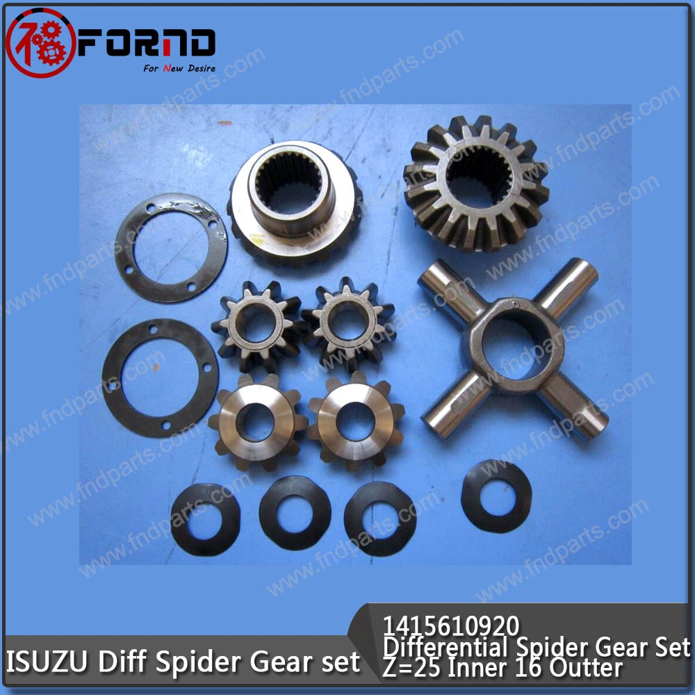 ISUZU Differential Spider Gear Set With Washer For NPR 1415610920