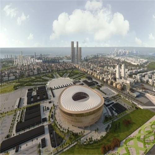 WONEPART peça de reposição SUPPLY CRCC realizado o projeto do estádio principal da Copa do Mundo Qatar