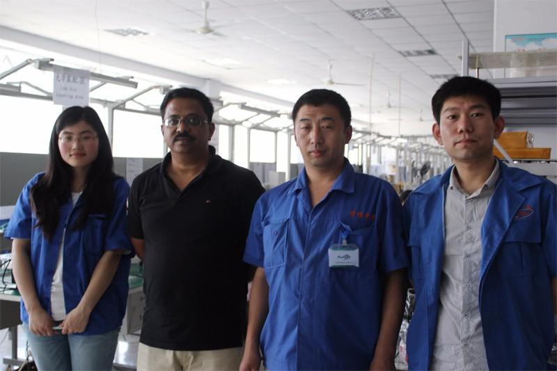 Indian Partner Visiting