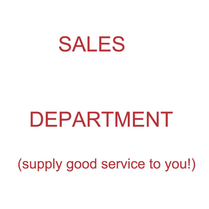 SALE DEPARTMENT AND SALES VOLUME 2017