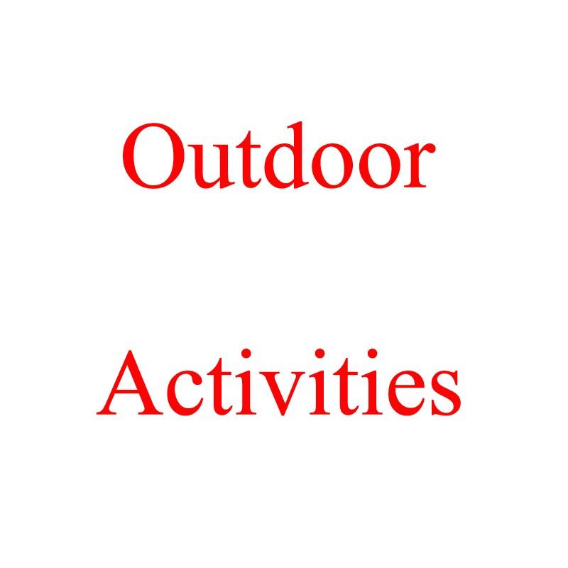 Outdoor Activities Held by Company