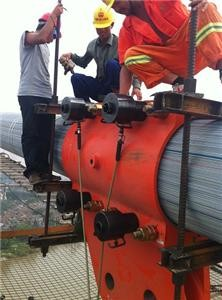 The locking clip is applied to the locking bolt of Shaoxing Binhai bridge