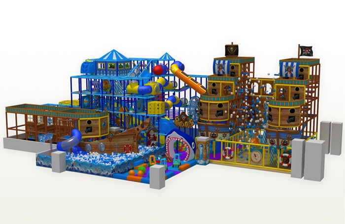 Indoor Toddler Playground Equipment