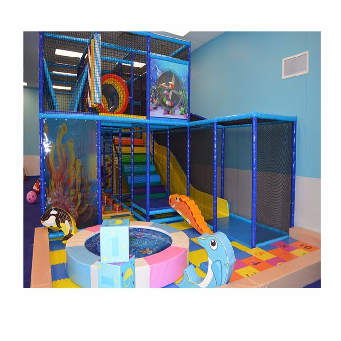 Indoor Playground Shopping Mall For Childrens