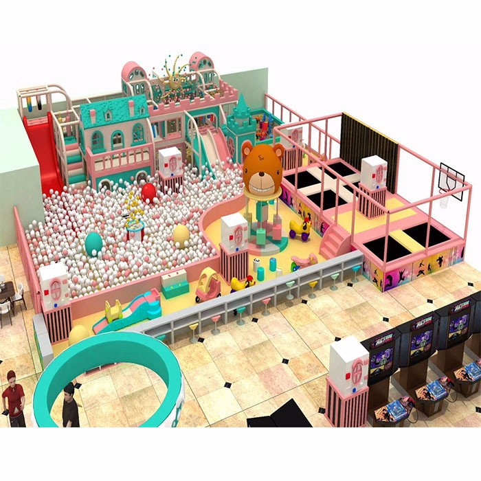 New Macaron Design Of Indoor Playground