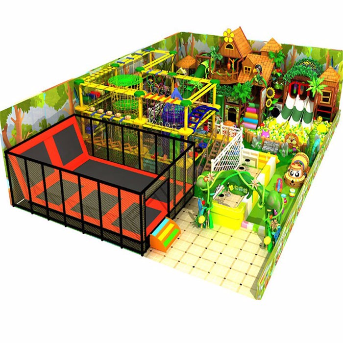 Indoor Children Jungle Gym
