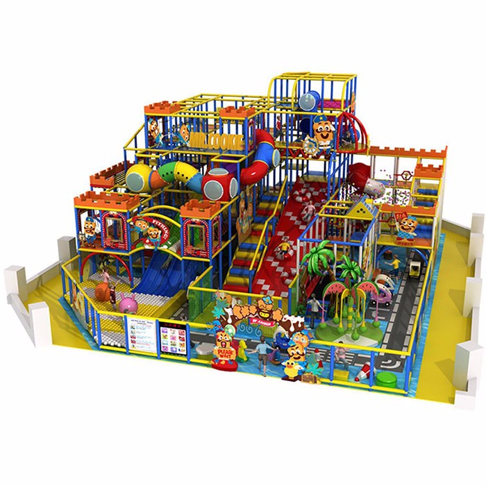 Soft Play Area With Children