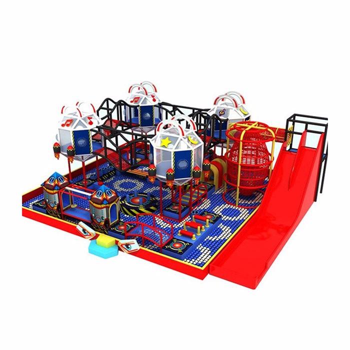 Fun City Indoor Playground Area