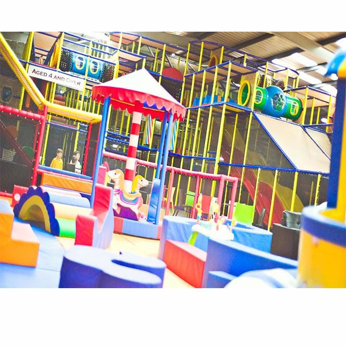 Children Play Center Inside
