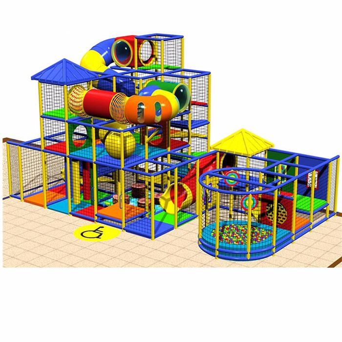Wooden Material Indoor Playground For Children