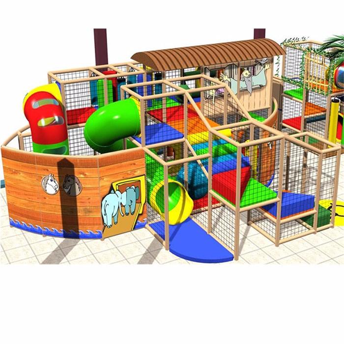 Indoor Playground Design By Feifan Amusement