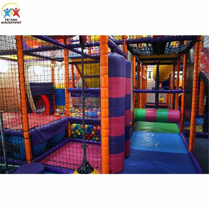 Customized Design For Children Indoor Playground