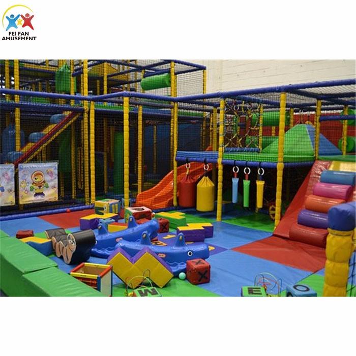 Children Indoor Playground Set On Shopping Mall