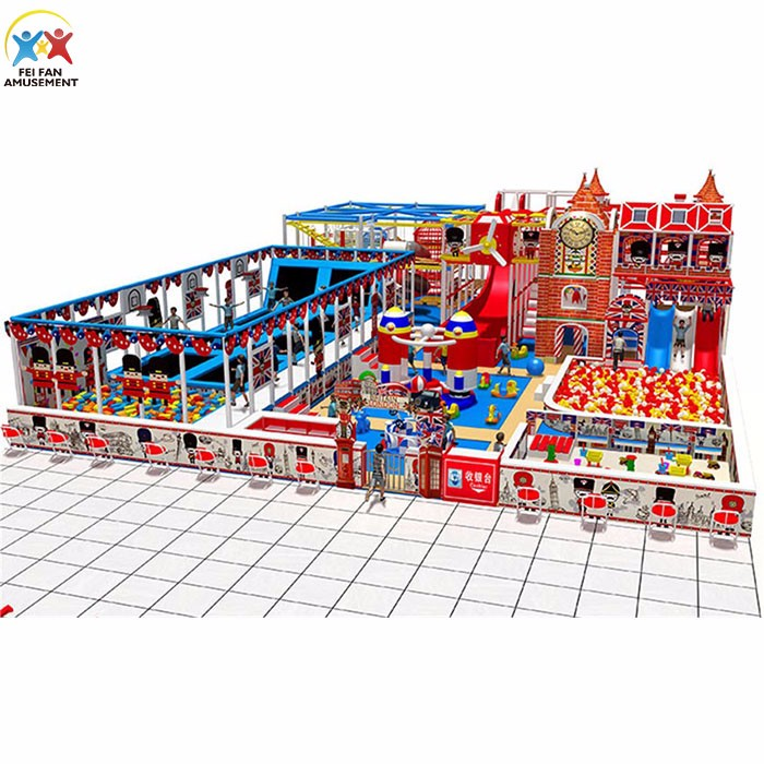 Customized small indoor play area for kids