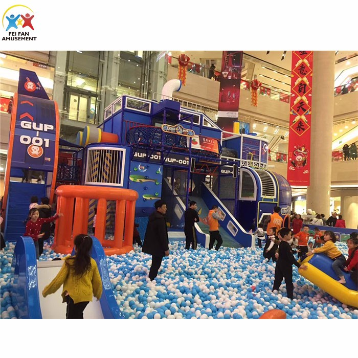 Million indoor ball pool playground for kids
