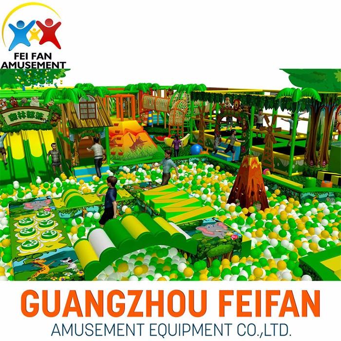 Indoor Happy Play Lands For Kids