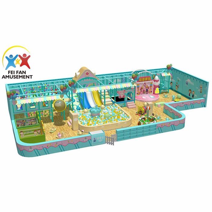 Newest Design Of Children Indoor Playground