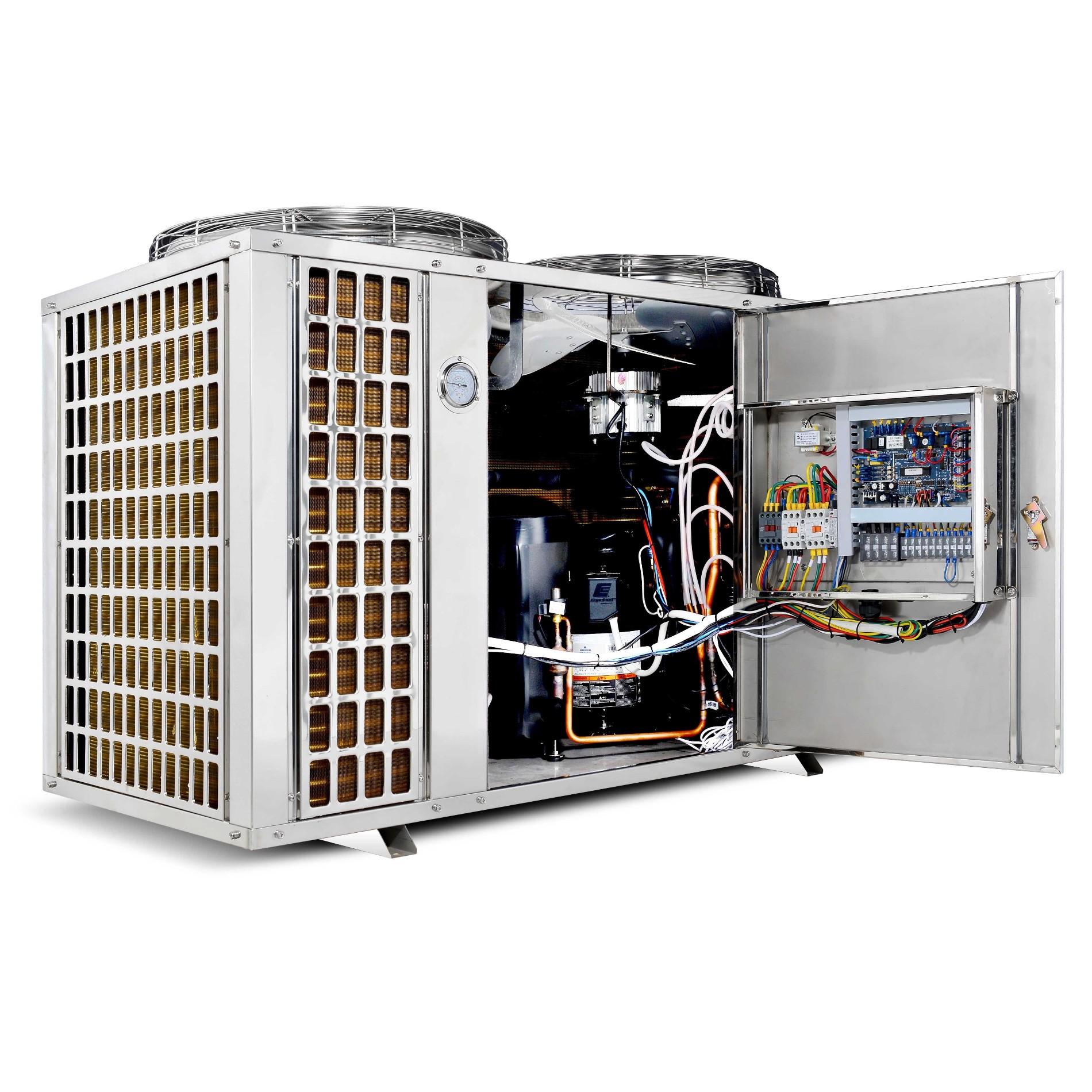Riscaldamento A Pavimento E Raffreddamento pompa di calore per riscaldamento e raffreddamento piscina