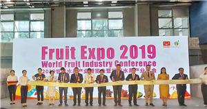 AIM Heat Pump Drying Machine Attended Fruit EXPO 2019 In Guangzhou