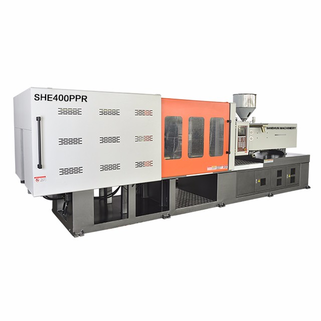 SHE400 PPR Pipe Fitting Making Injection Molding Machine