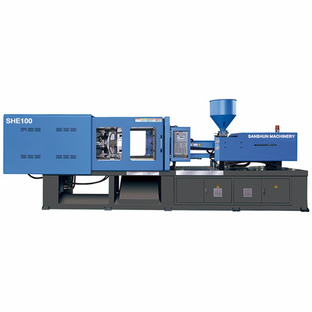 SHE100 Fixed Pump Injection Moulding Machine