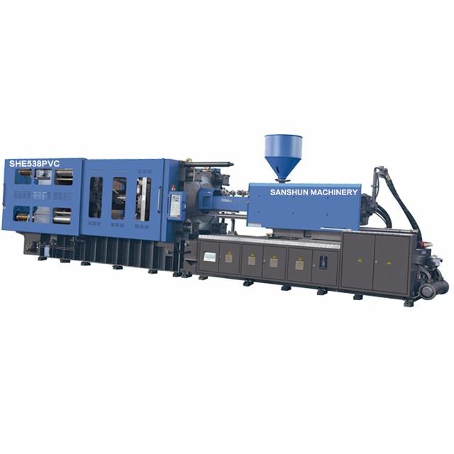 SHE538 PVC Pipe Makimg Injection Molding Machine