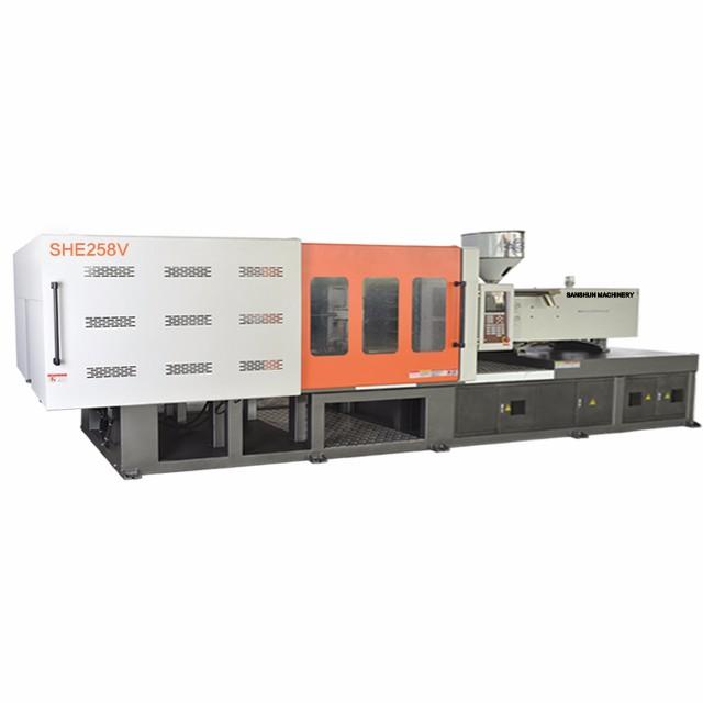 SHE258V Variable Energy Saving Injection Moulding Machine