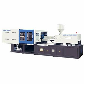 SHE258G Servo Energy Saving Injection Moulding Machine