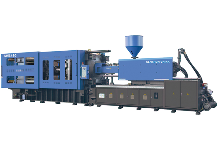Injection Moulding machine with fixed pump