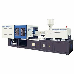 SHE258 PVC Pipe Making Injection Molding Machine