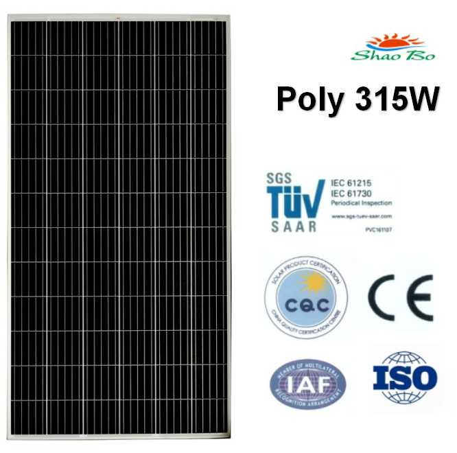 High quality crystalline silicon solar  315W Poly Solar Module Quotes,China silicon solar315W Poly Solar Module Factory,good quality 315W Poly Solar Module Purchasing