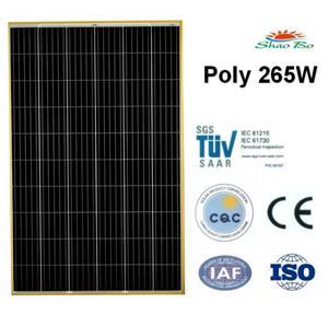 265W Poly Solar Module