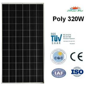 320W Poly Solar Panel