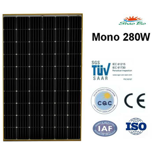 280W Mono Solar Module