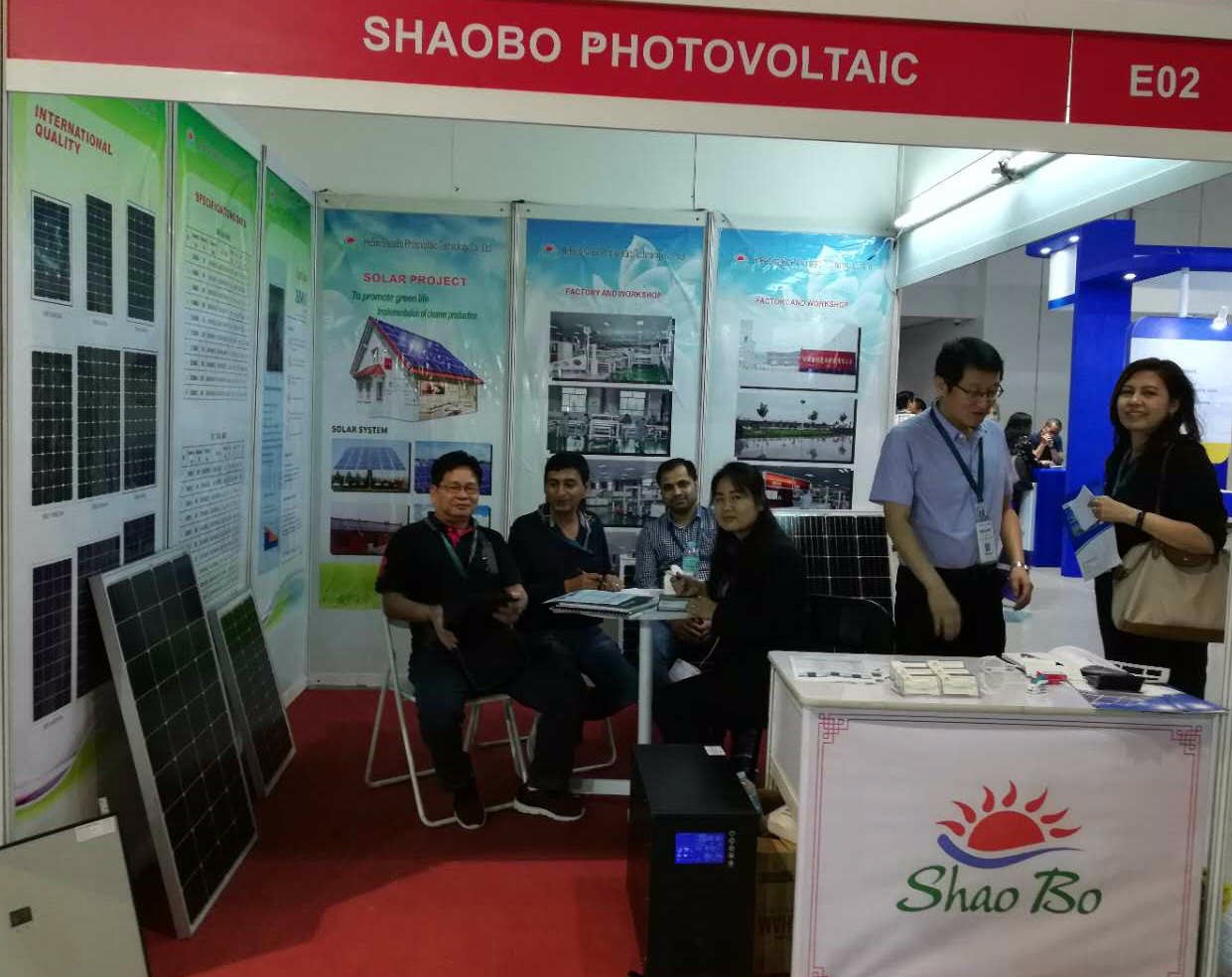 exhibition --2018,05 Philippines solar show
