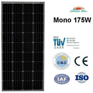 175W Mono Solar Module