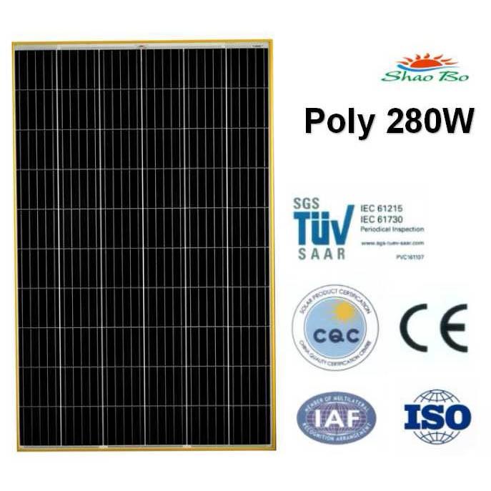 280W Poly Solar Module