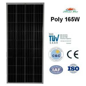 165W Poly Solar Module