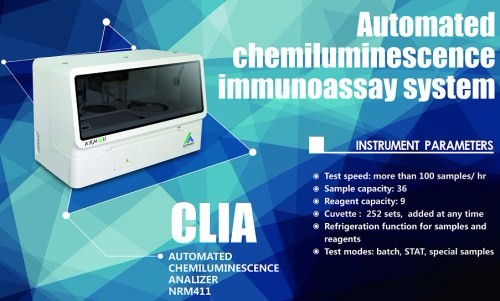 Whole Blood Chemiluminescence Immunoassay Analyzer Manufacturers, Whole Blood Chemiluminescence Immunoassay Analyzer Factory, Supply Whole Blood Chemiluminescence Immunoassay Analyzer