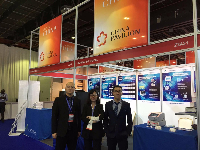 Norman Attended Medlab 2018 In Dubai