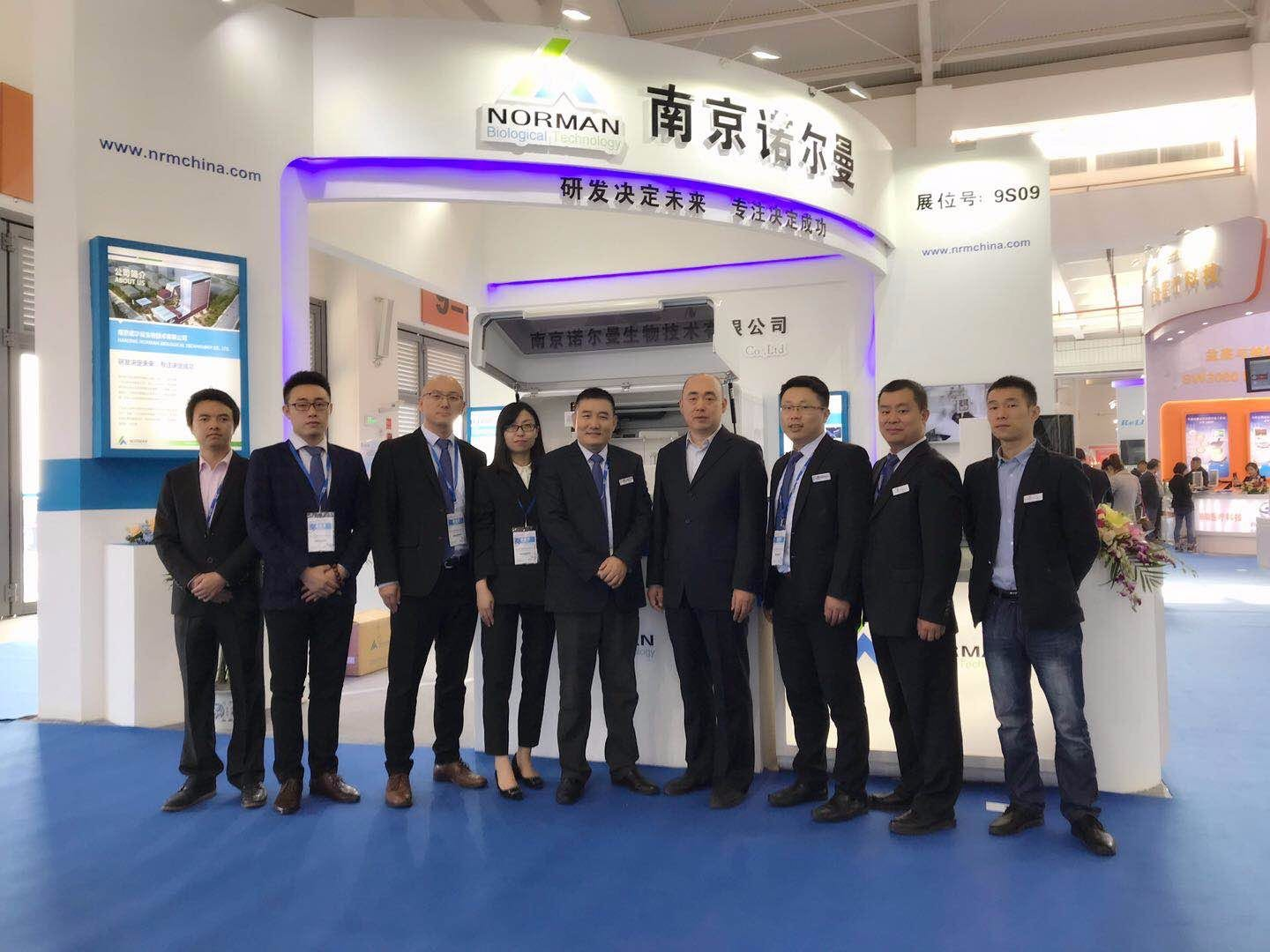 Norman Attended Cmef In Shenzheng