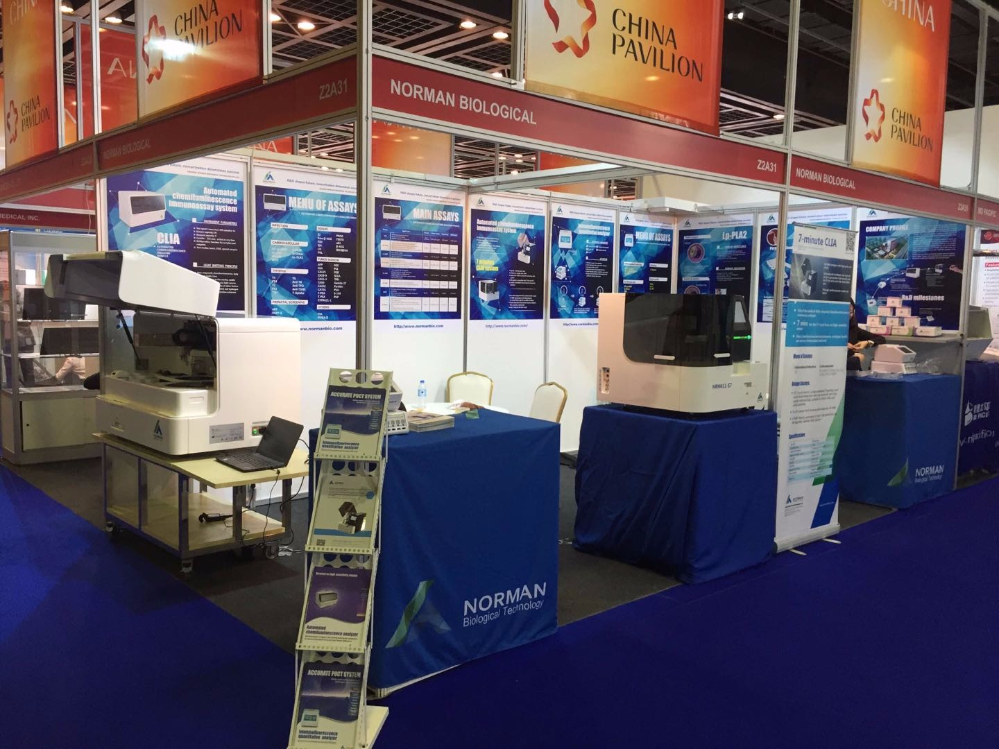 Norman Attended Medlab 2018 In Dubai