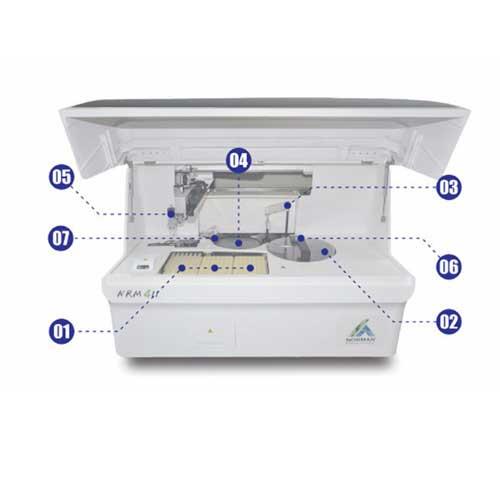 Fully Automatic Serum Plasma Chemiluminescence Immunoassay Analyzer