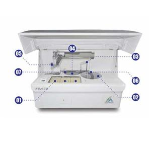 Fully Automatic Serum Plasma Chemiluminescence Immunoassay Analyzer