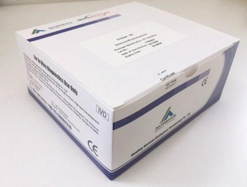 Fluorescence immunoassay POCT test