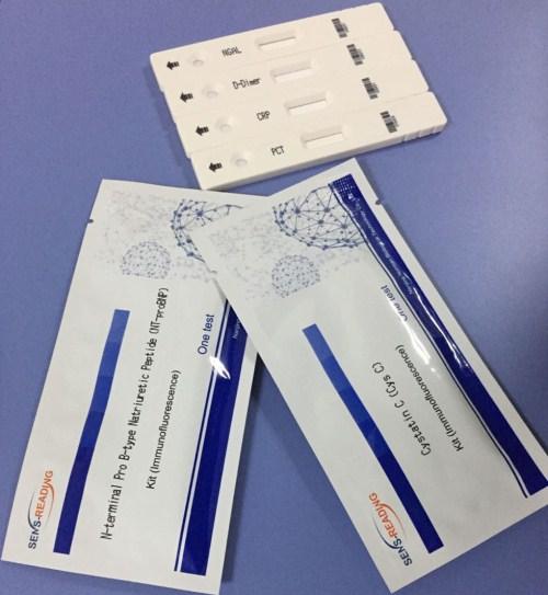 D-Dimer Immunofluorescence Testing