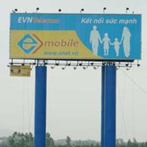 Outdoor Pole Billboard