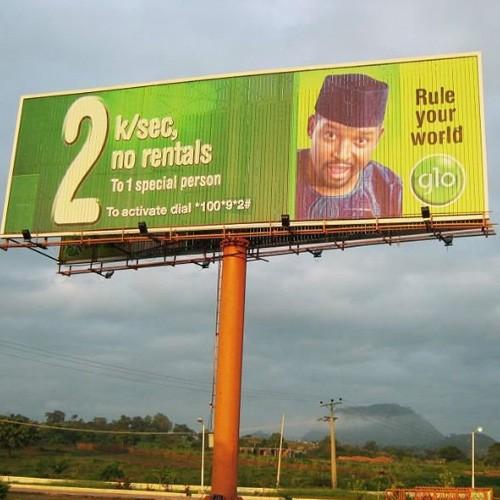 Outdoor Unipole Tri-vision Billboard