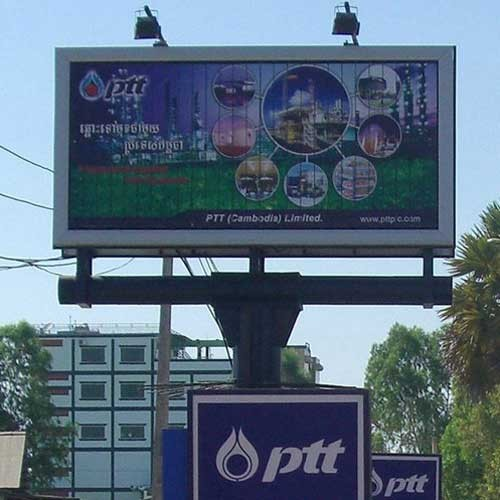 Traffic Scrolling Billboard